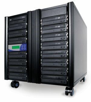 ADR Whirlwind CD-Kopierer mit 15 CD-Brennern